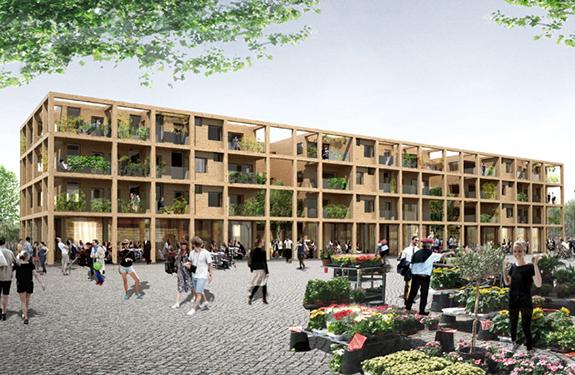 Trellis housing – Katrineholm