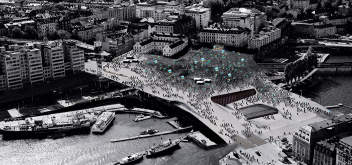 100.000 Stockholmers celebrate Swedens first World Cup gold medal in 2014.