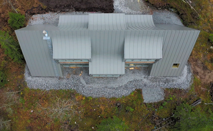 View from above Photo: Grand Designs Sverige